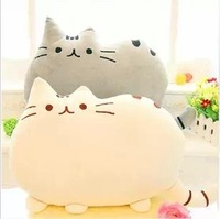 FREE SHIPPING 40*30cm kawayi Big big the cat pillow cushion plush toy doll birthday gift for girl's /boy's