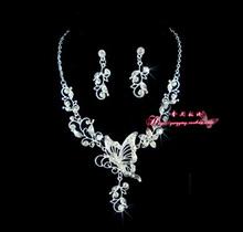 The bride necklace 2 piece set bride accessories set marriage accessories bridal accessories