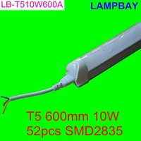 LED tube T5 600mm 2ft 9W high lumens two years warranty