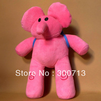 Free Shipping PATO Pocoyo Pink Elephant Soft Plush Stuffed Figure Toy Doll 30cm 5 pcs/lot