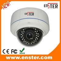 Vandalproof Metal Dome Camera EST-V7344M-P SONY EFFIO-P 700TVL CCD,4129DSP+662/663CCD,WDR,OSD,DNR CCTV surveillance systems