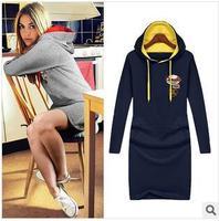 Free Shipping Designer Famous Brand Plus Size Fitted Winter Dresses Fashion Slim Basic Dress 4XL Women DM131865