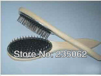 Free Shipping. Loop brushes,Special wig steel wooden comb,senior anti-static  Loop comb