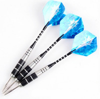 laser 22 grams of iron dart hard darts Steel Tip Darts With Aluminum alloy Brass Darts High Quality 3 pcs/set