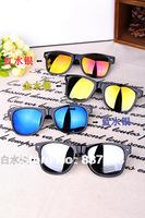 2014 Fashion coating sunglass Women & Men Polarized Lenses Sunglasses Cycling Eyewear UV Protection Optical Fashion Sun Glasses