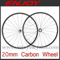 light weight carbon wheels 20mm tubular 700c tubular road bike wheelset