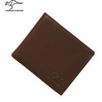 Phalanger cowhide wallet male wallet belt driving license wallet male short design genuine leather