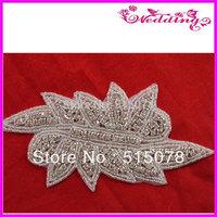 Evening Dresses Rhinestone Patch Fashion Crystal Rhinestone Patch For Party Dresses