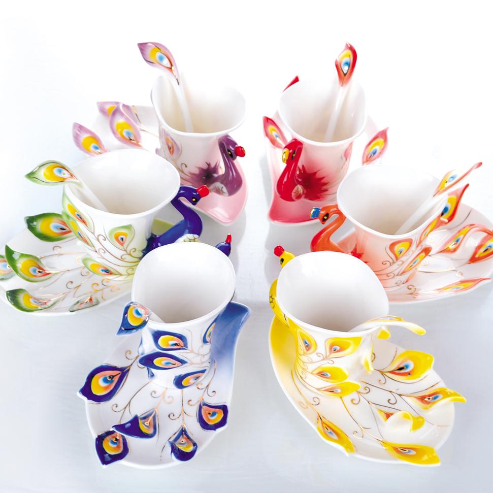 TASSES DE CAFE - Page 38 Free-shipping-font-b-Porcelain-b-font-enamel-font-b-Mugs-b-font-peacock-coffee-cup