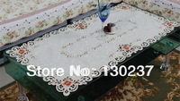 807 / Rectangle 57cm *117cm/ Chinese embroidery hollow round tablecloths / table mat / tea table cloth / Furnishings