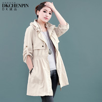 Dk turn-down collar solid color 2013 female autumn outerwear brief OL outfit casual clothing