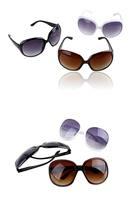 Fashion Sunglasses Eyewear Big Frame Frog Mirror Women Decorate the Sunglasses