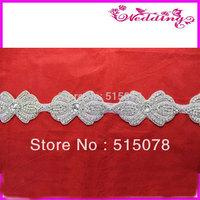 Fashion crystal bridal motifs rhinestone designs rhinestone patch motif