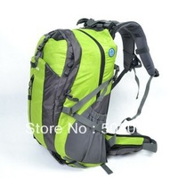 Free shipping 40L Backpack Mesh compartment  With a suspension system Removable trekking package  Riding package