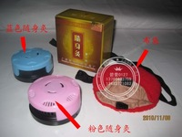 Free shipping Querysystem cauterize portable moxa box moxa moxibustion box
