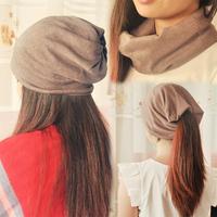 Pullover toe cap covering cap turban scarf muffler multi-purpose hat  Unisex  Wholesale and retail