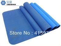 6mm free shipping NBR yoga mat natural rubbler yoga studio pilates studio yoga club yoga centre sport club sport gym yogi mat