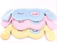 Free shipping!Wholesale 2013 new cartoon plush eyepatch,sleep eye protection mask blinder,eye patch for sleeping