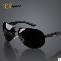 Man Authentic polarisers sunglasses, drive glasses, metal frame,  five colors, Support retail and wholesale, free shipping