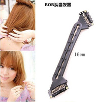 Magic Hair tools, Long Into Short ,BOB Hair Roller Twist Style DIY BOB Maker Hair Tools W/ Snap Clips free shipping