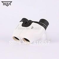 Waterproof High quality Telescope binoculars pocket-size HD multi-coated binoculars 10x22mm Black color Free Shipping