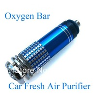 Auto Car Fresh Air Purifier Oxygen Bar Ionizer Air Freshener Free Shipping