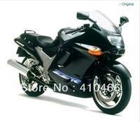2013 Motorcycle Fairing kit for Kawasaki Ninja ZZR 1100 1993 2003  ZZR 1100D 93 03 ZZR1100D ZX11 matte black fairings set KH95