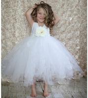 Flower girl formal dress child wedding formal dress princess dress female child princess dress flower girl dress