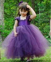 Tent child wedding dress princess dress flower girl dress costume formal dress piano formal dress flower girl dress