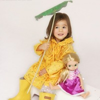 Hotsale Funny Rain Coat Kids children Raincoat Rainwear/Rainsuit,Kids Waterproof Star Raincoat,free shipping