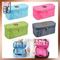 Free Shipping Wholesale Retail Super Hot-sale High Quality Travel Bra Organizer Bags in Bag Handbag Organizer