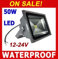 On Sale! 12V 24V LED Flood light 50W waterproof  IP65 Floodlight Cold white / warm white Outdoor Flood lights Landscape Lighting