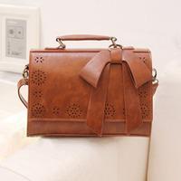 Trend 2013 bow messenger bag briefcase messenger bag handbag women's bag  free shipping