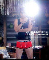 10pcs/lot High Quality  Man Underware /Boxer Briefs/ Man Briefs Sexy Shorts Underpants Mixed color Free shipping by HK POST 1201