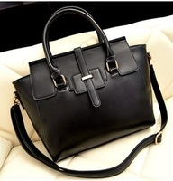 2013 women's fashion handbag fashion all-match large bag handbag shoulder bag messenger bag vintage bag