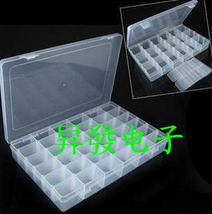 5PCS Component box 24 grid boxes of parts IC Box Storage Box(China (Mainland))