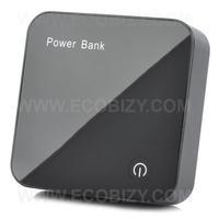 Portable 3.7V 6600mAh + Solar Power + 6 Charging Adapters + Black Dual USB Mobile Bank + Free shipping