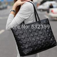 NB045 - Women's Handbag Vintage Bag Embroidery Plaid Bag Women's Shoulder Bag
