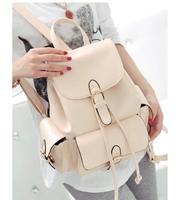 NB199 - Fashion Hot-Selling PU Women's Handbag Casual Cell Phone Pocket Backpack Street Bag Leather Female Bags