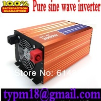 6000W Watts Peak Real pure sine wave 3000W 3000 Watts Power Inverter 12V DC to 220V AC for solar panel + Free shipping