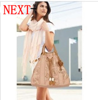 B038  2013 fashion next cutout women's handbag ,shoulder bag,  lady's PU elegant handbag, free shipping