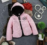 Wholesale 4 pcs/lot 2013 Korean children's winter fashion thick coat, thick cotton-padded jacket girls free shipping