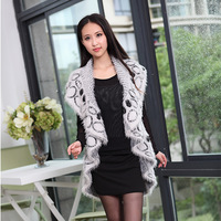 2013 autumn quality mohair vest outerwear sleeveless cardigan sweater brief dot fur shawl