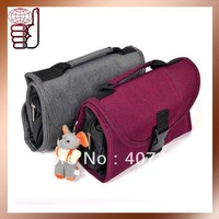 Free Shipping Retail Hot Selling Cheap Nylon Travel Mate Handbag Organizer Toiletry Bag in Bag