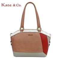 Kate co 2209 bag genuine leather bag one shoulder handbag women's patchwork handbag