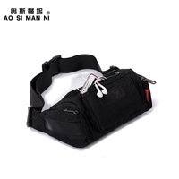 Strengthen outdoor waist pack casual waist pack mountaineering bag ride chest pack