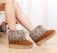 2013 women's boots gentlewomen casual all-match comfortable short snow boots paltform sneakers for women flats