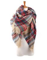 2014 New fashion designer unisex plaid desigual scarves  Women's Autumn And Winter scarf brand shawl free shipping