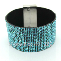 Bright Bracelet Jewelry Brazilian Style Wrist Bracelet Mirco Pave Zircon Cloth+Magnetic Clasp Hipanema Holiday