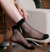 A042 socks candy color socks crystal stockings sock sexy silk stockings ultra-thin